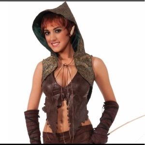 Tops - Elven Warrior Hunter Huntress Halloween Costume